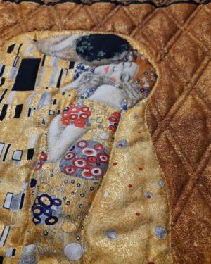 Panneau n°41 : Gustav Klimt «Le Baiser»