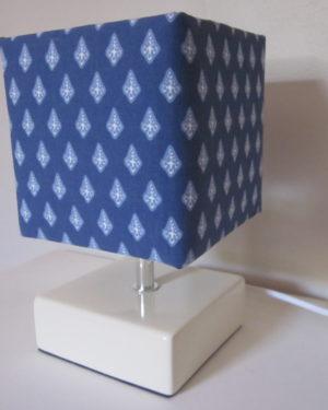 lampe de chevet bleu provence